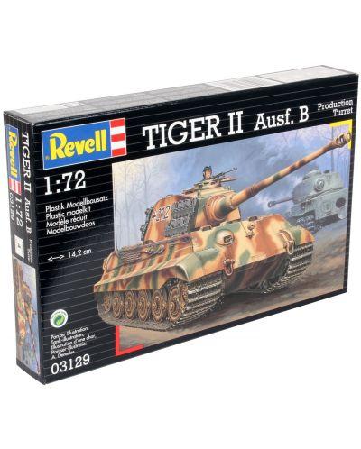 Сглобяем модел на танк Revell - Tiger II Ausf. B (03129) - 3