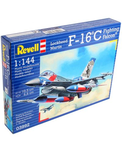 Сглобяем модел на изтребител Revell Lockheed - Martin F-16C Fighting Falcon (03992) - 3