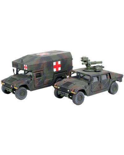 Сглобяем модел на военен транспорт Revell -  MMWV M966 TOW Missile Carrier & M997 Maxi Ambulance (03147) - 1