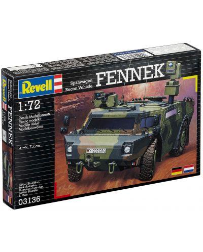 Сглобяем модел на военен транспорт Revell - Scout car Fennek (03136) - 2