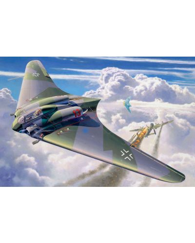 Сглобяем модел на военен самолет Revell - Horten Go-229 (04312) - 2