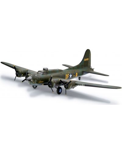 Сглобяем модел на военен самолет Revell - B-17F Memphis Belle (04297) - 1