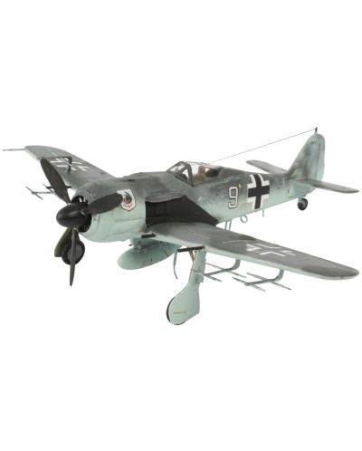 Сглобяем модел на военен самолет Revell - Focke Wulf Fw 190 A-8/R11 (04165) - 1