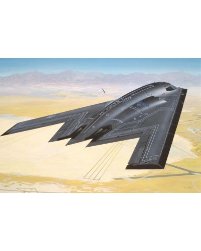 Сглобяем модел на военен самолет Revel - Northrop B-2 Bomber (04070) - 2