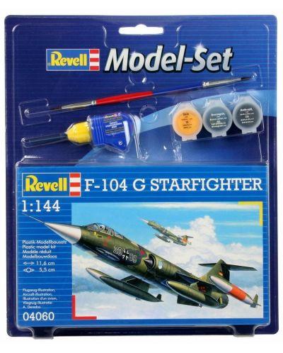 Сглобяем модел на военен самолет Revell - F-104 G Starfighter (04060) - 1