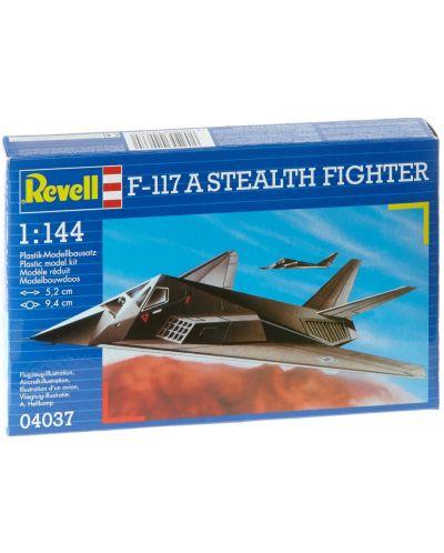 Сглобяем модел на изтребител Revell - F-117 Stealth Fighter (04037) - 5