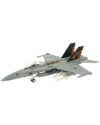 Сглобяем модел на военен самолет Revel - F/A-18 D Hornet Wild Weasel (04064) - 1