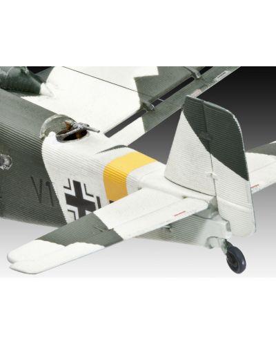Сглобяем модел на военен самолет Revell Junkers - Ju52/3m (04843) - 4