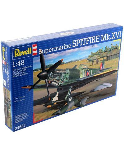 Сглобяем модел на военен самолет Revell - Spitfire Mk.XVI (04661) - 2