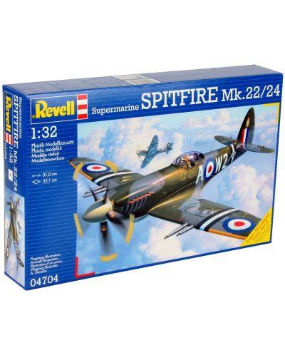 Сглобяем модел на военен самолет Revell Supermarine - SPITFIRE Mk.22/24 (04704) - 1