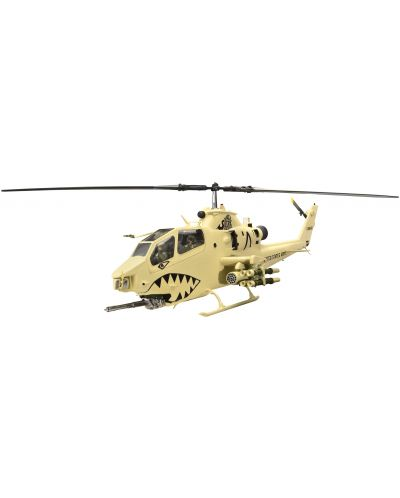 Сглобяем модел на военен хеликоптер Revell - Bell AH-1F Cobra (04646) - 1