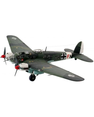 Сглобяем модел на военен самолет Revell - Heinkel He111 H-6 (04377) - 1