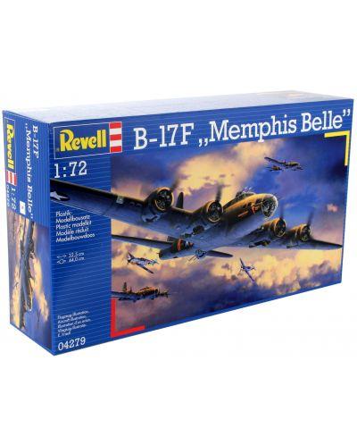 "Сглобяем модел на военен самолет Revell - B-17F ""Memphis Belle"" (04279) - 6"