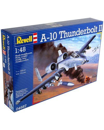 Сглобяем модел на военен самолет Revell - A-10 Thunderbolt II (04687) - 3