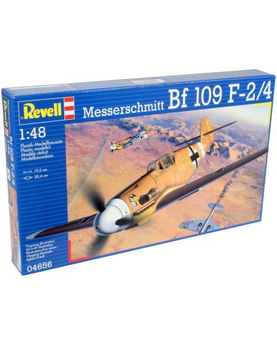 Сглобяем модел на военен самолет Revell Messerschmitt - Bf109 F-2/4 (04656) - 6