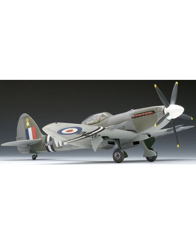 Сглобяем модел на военен самолет Revell Supermarine - SPITFIRE Mk.22/24 (04704) - 2