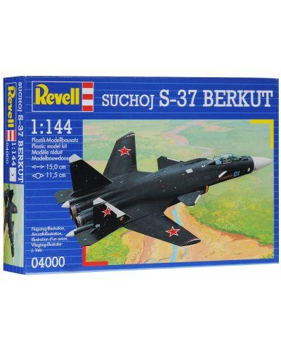 Сглобяем модел на военен самолет Revell - Suchoj S-37 Berkut (04000) - 4