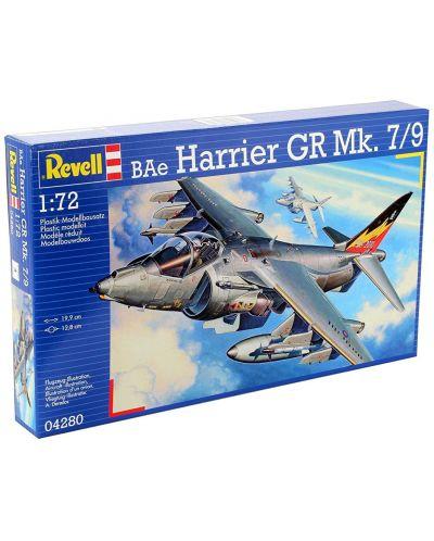 Сглобяем модел на изтребител Revell - BAe Harrier GR Mk.7 (04280) - 3