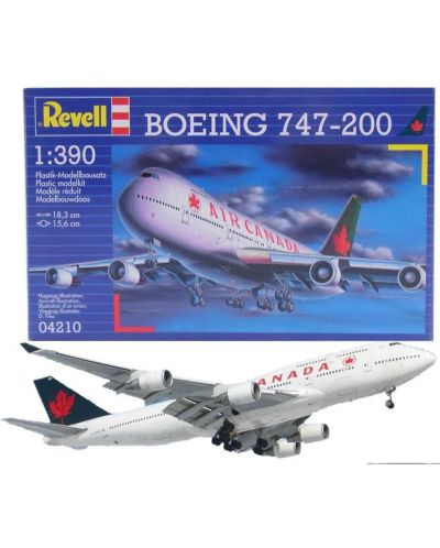 Сглобяем модел на самолет Revell - Boeing 747-200 (04210) - 2