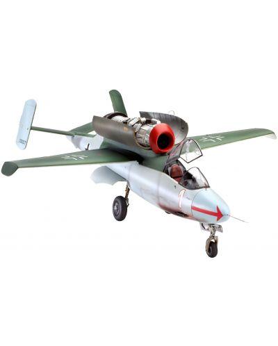 Сглобяем модел на военен самолет Revell Heinkel - He162A-2 Salamander (04723) - 1