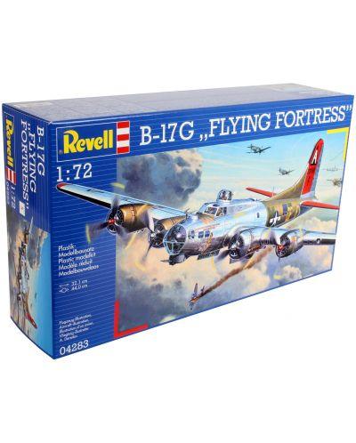 Сглобяем модел на военен самолет Revell - B-17G Flying Fortress (04283) - 9