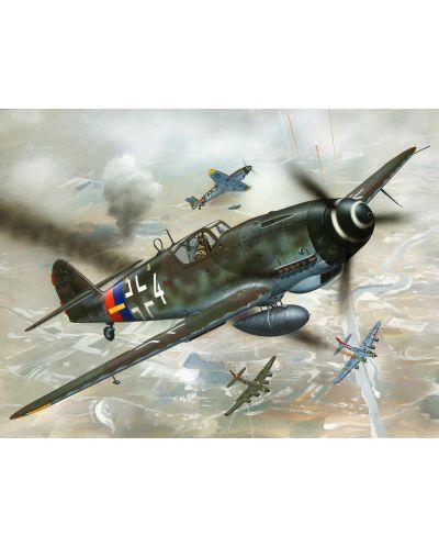 Сглобяем модел на военен самолет Revell - Messerschmitt Bf 109 G-10 (04160) - 2