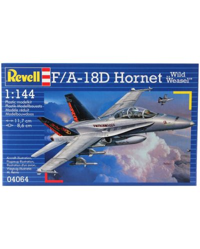 Сглобяем модел на военен самолет Revel - F/A-18 D Hornet Wild Weasel (04064) - 5