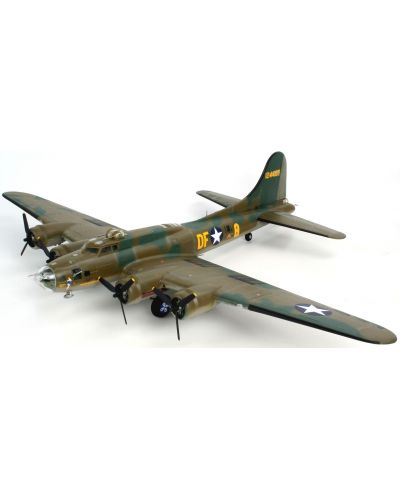 Сглобяем модел на военен самолет Revell - B-17F Memphis Belle (04297) - 2