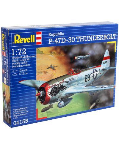 Сглобяем модел на военен самолет Revell - P-47 D Thunderbolt (04155) - 3