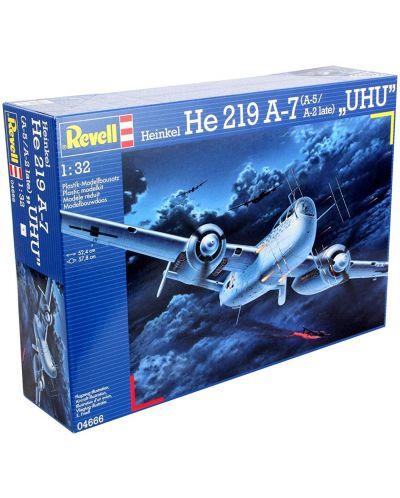 Сглобяем модел на военен самолет Revell Heinkel - He219 A-7/A-5/A-2 late UHU (04666) - 8