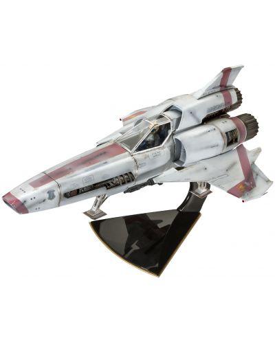 Сглобяем модел на космически кораб Revell - BSG Colonial Viper Mk. II (04988) - 1