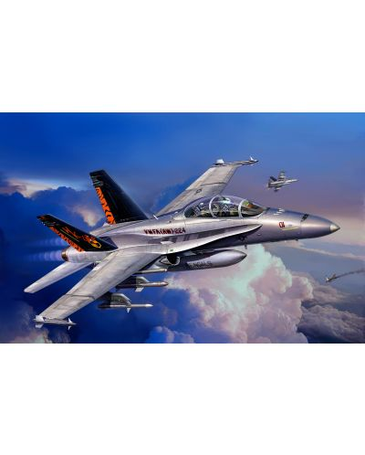 Сглобяем модел на военен самолет Revel - F/A-18 D Hornet Wild Weasel (04064) - 4