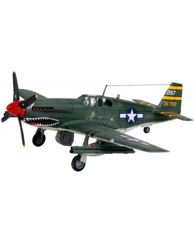 Сглобяем модел на военен самолет Revell - P-51 B Mustang (04182) - 1