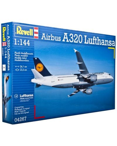 Сглобяем модел на самолет Revell - Airbus A320 Lufthansa (04267) - 3