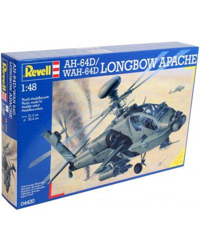 Сглобяем модел на хеликоптер Revell - AH-64D Longbow Apache/WAH-64D (04420) - 3