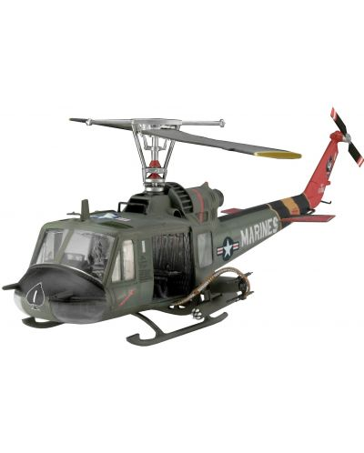 "Сглобяем модел на военен хеликоптер Revell - Bell UH-1 ""Huey Hog"" (04476) - 1"