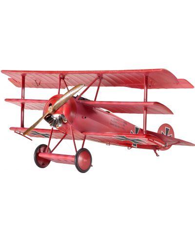 Сглобяем модел на военен самолет Revell - Fokker Dr.I Triplane (04682) - 1