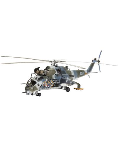 Сглобяем модел на военен хеликоптер Revell - Mil Mi-24V Hind E (04839) - 1
