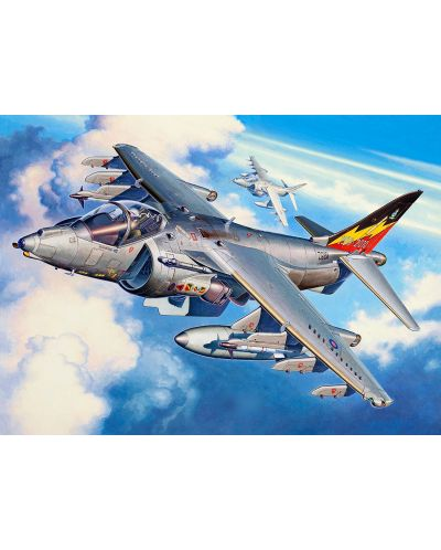 Сглобяем модел на изтребител Revell - BAe Harrier GR Mk.7 (04280) - 2