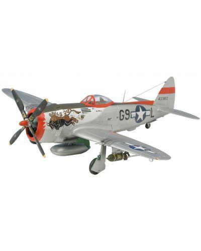 Сглобяем модел на военен самолет Revell - P-47 D Thunderbolt (04155) - 1
