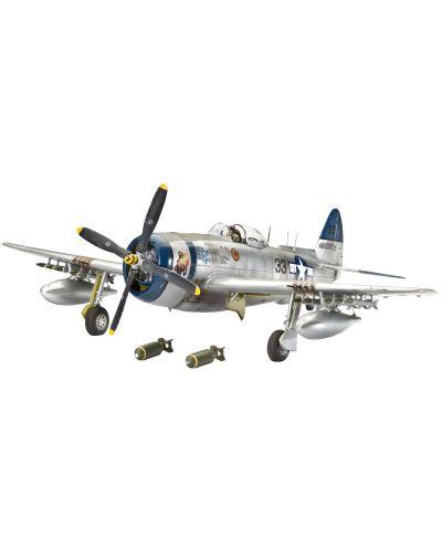 Сглобяем модел на военен самолет Revell - Republic P-47N THUNDERBOLT (04867) - 1
