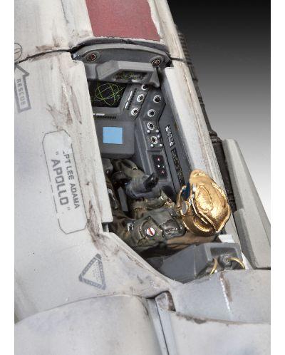 Сглобяем модел на космически кораб Revell - BSG Colonial Viper Mk. II (04988) - 6
