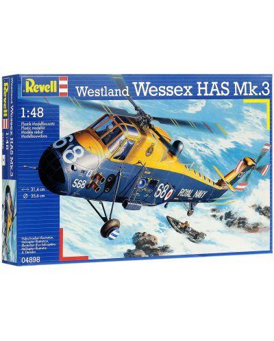 Сглобяем модел на военен хеликоптер Revell Westland - Wessex HAS Mk.3 (04898) - 2
