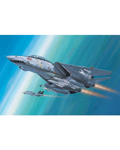 Сглобяем модел на изтребител-прехващач Revell - F-14D Super Tomcat (04049) - 2