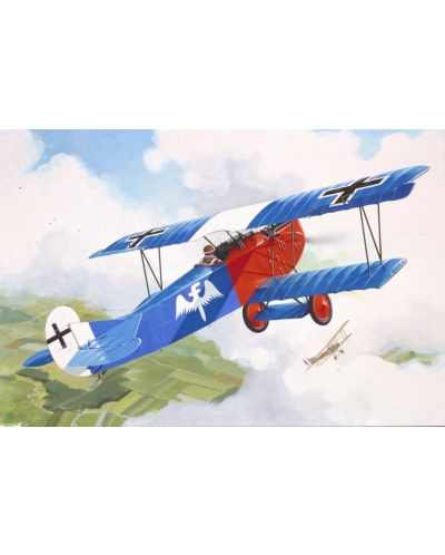 Сглобяем модел на военен самолет Revell - Fokker D VII (04194) - 2