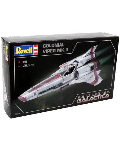 Сглобяем модел на космически кораб Revell - BSG Colonial Viper Mk. II (04988) - 7