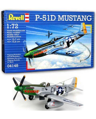 Сглобяем модел на военен самолет Revell - P-51D Mustang (04148) - 6