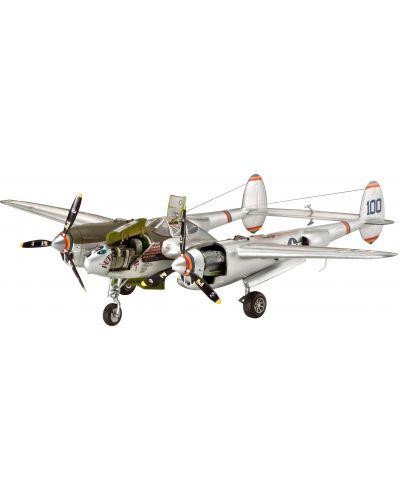 Сглобяем модел на военен самолет Revell - Lockheed P-38 L/M LIGHTNING (04293) - 1