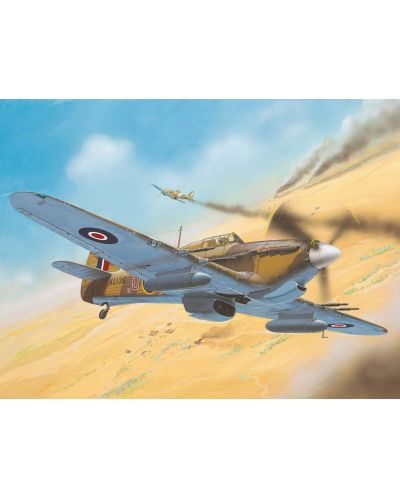 Сглобяем модел на военен самолет Revell - Hawker Hurricane Mk IIC (04144) - 2