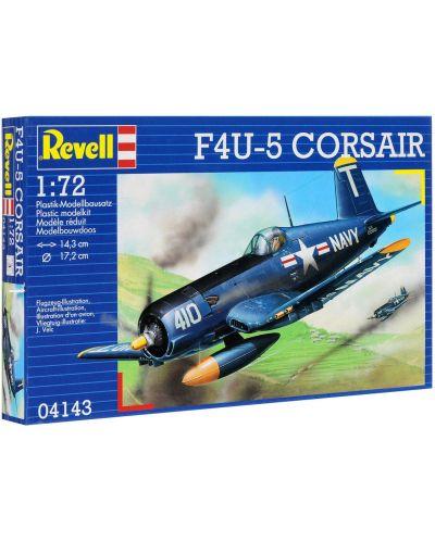 Сглобяем модел на военен самолет Revell - F4U-5 Corsair (04143) - 2
